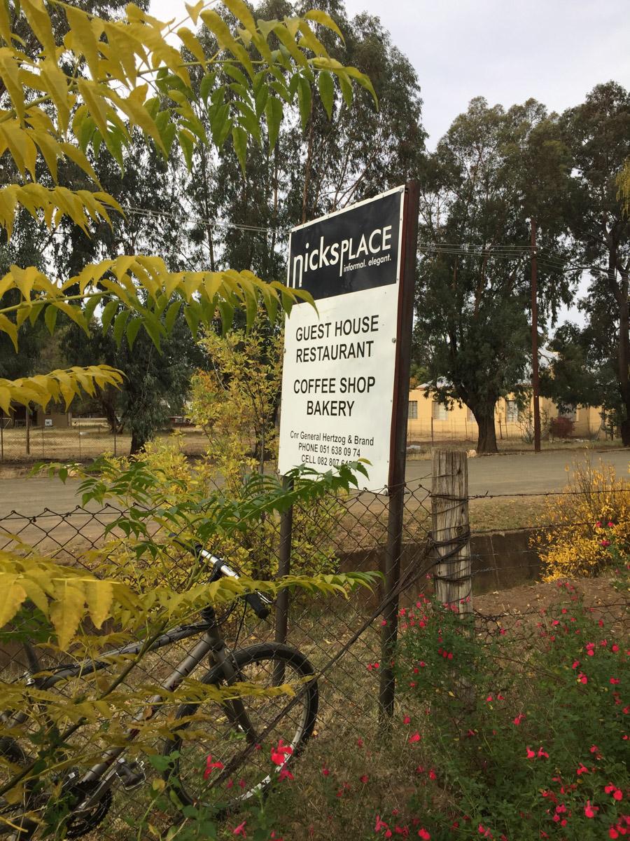 Nick's Place, Smithfield, South Africa
